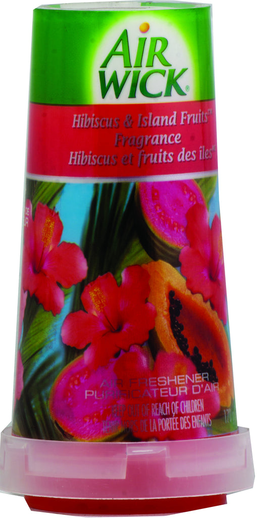 AIR WICK SOLID - HIBISCUS & ISLAND FRUITS 6 OZ