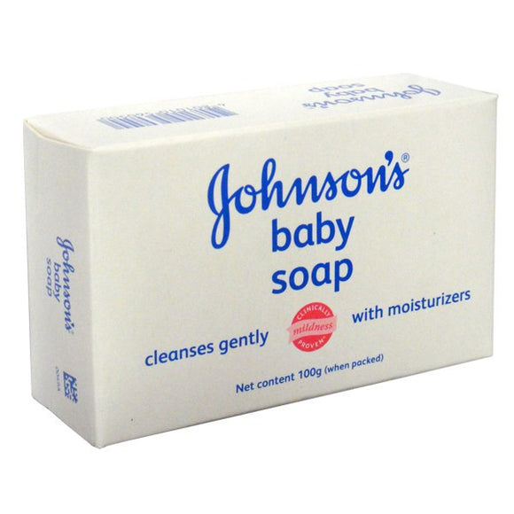 JOHNSON AND JOHNSON'S - BABY SOAP 100 G - 96 SHEET