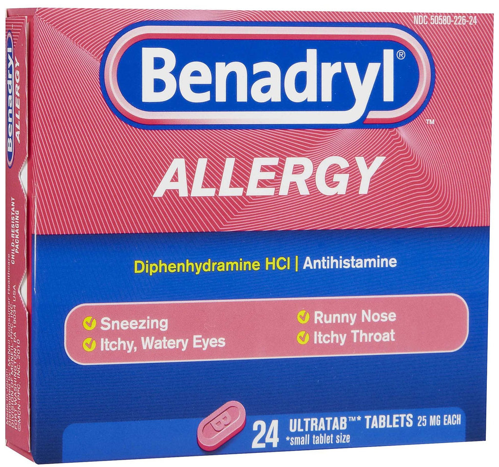 BENADRYL - ALLERGY 24'S