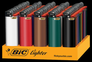 BIC - REGULAR LIGHTERS - 50PC/TRAY