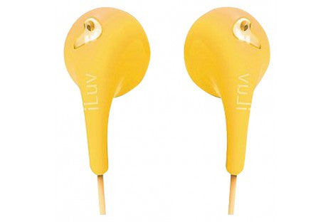 iLUV - BUBBLEGUM HEADPHONES - YELLOW (EACH)