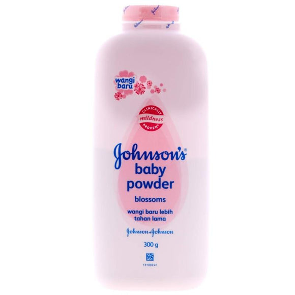 JOHNSON AND JOHNSON'S - BABY POWDER 300 G - PINK - 12CT/CASE