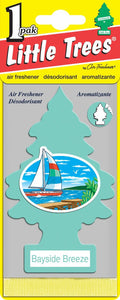 LITTLE TREES - CAR FRESHENER - BAYSIDE BREEZE 24'S