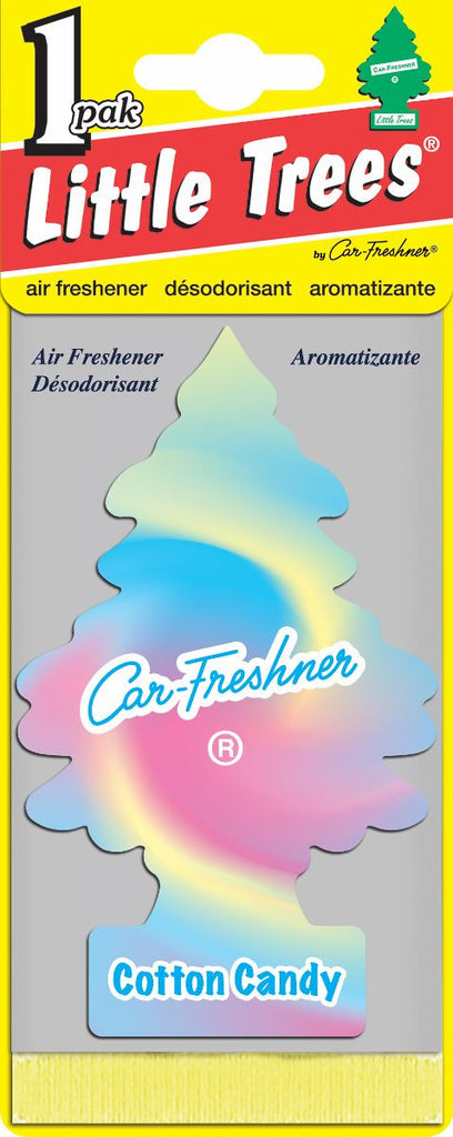LITTLE TREES - CAR FRESHENER - COTTON CANDY 24'S