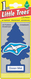 LITTLE TREES - CAR FRESHENER - OCEAN MIST 24'S