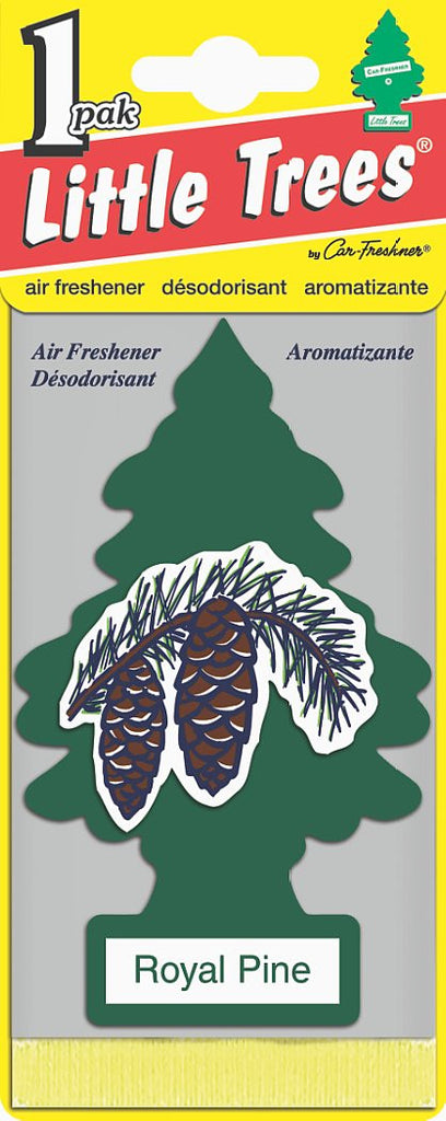 LITTLE TREES - CAR FRESHENER - ROYAL PINE 24'S