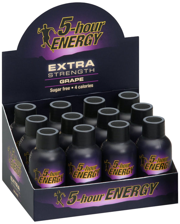 5-hour ENERGY DISPLAY - EXTRA GRAPE - 12CT/BOX