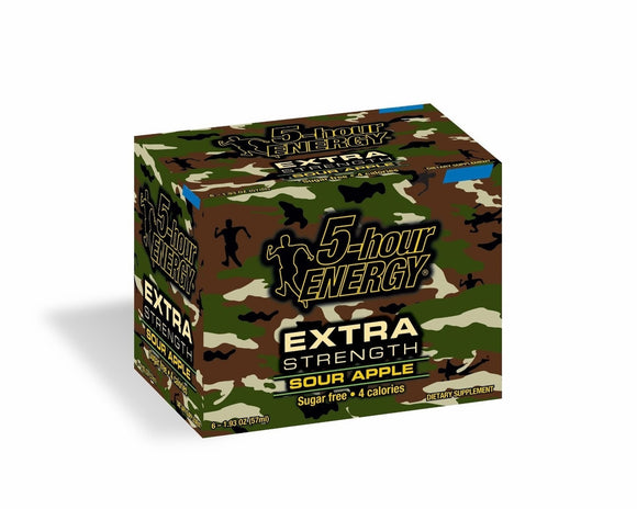 5-hour ENERGY DISPLAY - EXTRA SOUR APPLE - 12CT/BOX