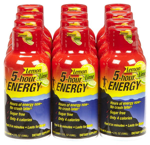 5-hour ENERGY DISPLAY - LEMON LIME - 12CT/BOX