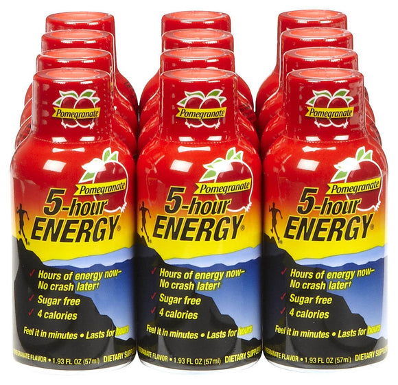 5-hour ENERGY DISPLAY - POMEGRANATE - 12CT/BOX