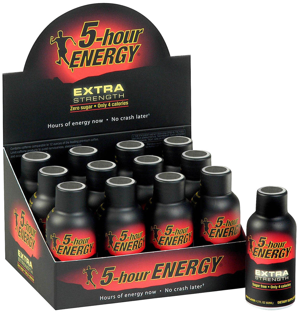 5-hour ENERGY DISPLAY - EXTRA - 12CT/BOX
