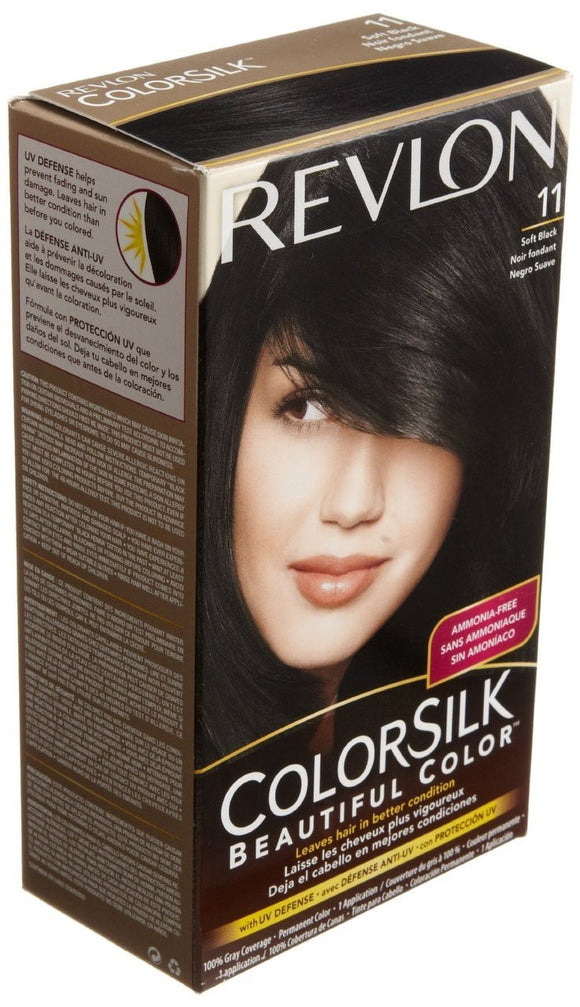 REVLON - COLORSILK - SOFT BLACK (11) - 12CT/CASE