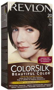 REVLON - COLORSILK - BROWN BLACK (20) - 12CT/CASE