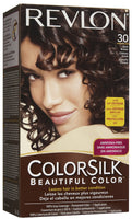 REVLON - COLORSILK - DARK BROWN (30) - 12CT/CASE