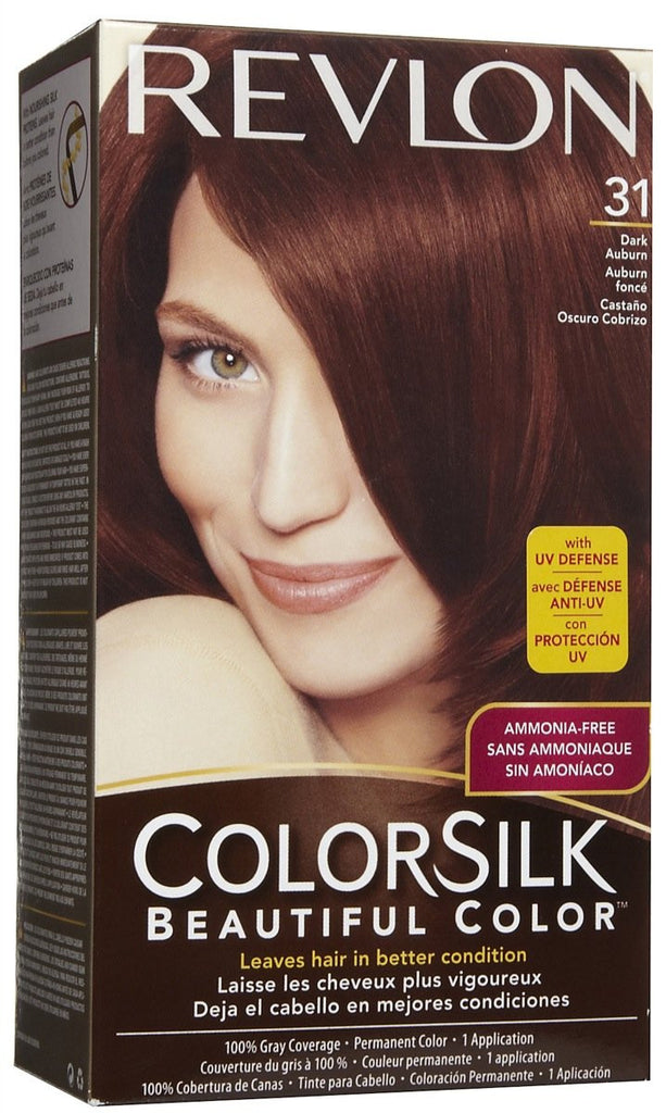 REVLON - COLORSILK - DARK AUBURN (31) - 12CT/CASE