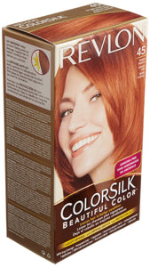REVLON - COLORSILK - BRIGHT AUBURN (45) - 12CT/CASE