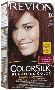 REVLON - COLORSILK - AUBURN BROWN (49) - 12CT/CASE
