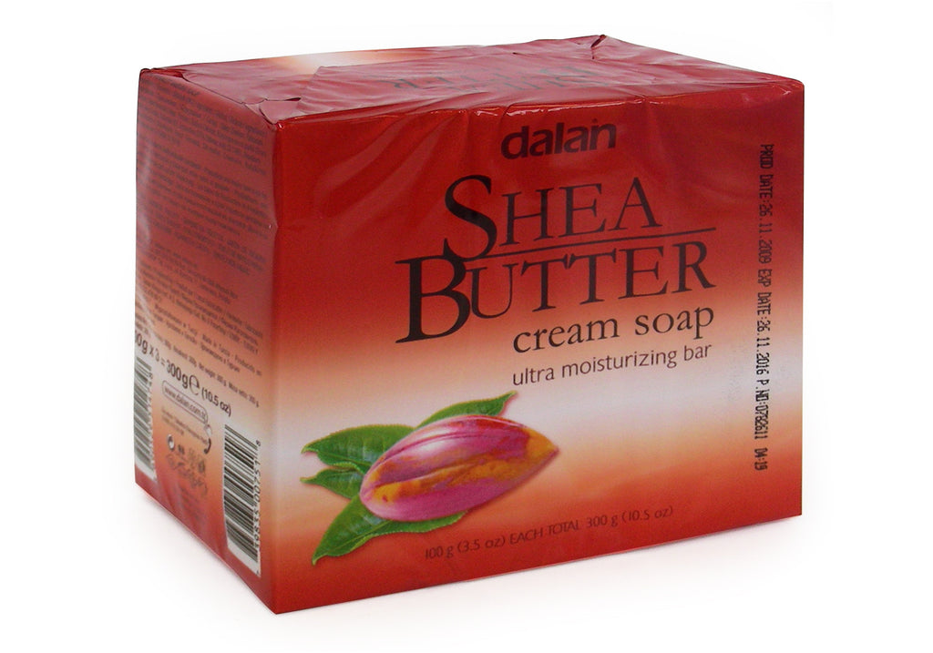 DALAN SOAP - SHEA BUTTER 31 OZ - 24CT/3PK/CASE