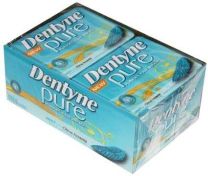 DENTYNE PURE - MINT CITRUS GUM - 12CT/BOX
