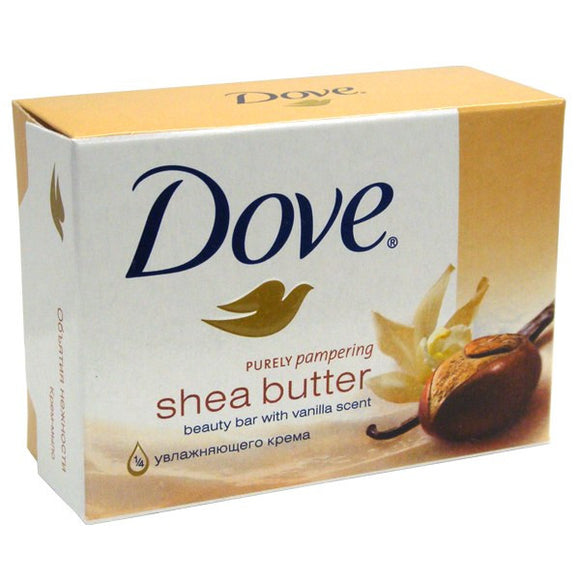 DOVE SOAP - SHEA BUTTER 135 G - 48CT/CASE