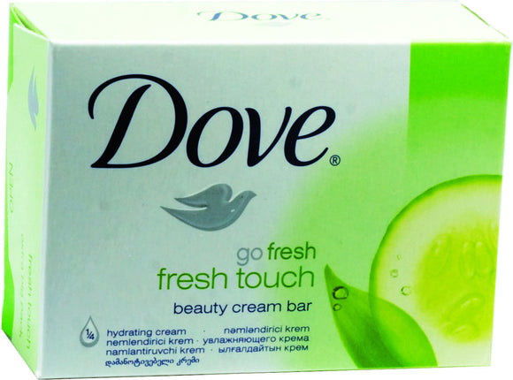 DOVE SOAP - FRESH TOUCH GREEN 135 G - 48CT/CASE