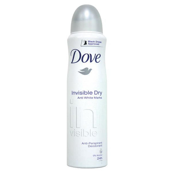 DOVE BODY SPRAY 150 mL - INVISIBLE DRY