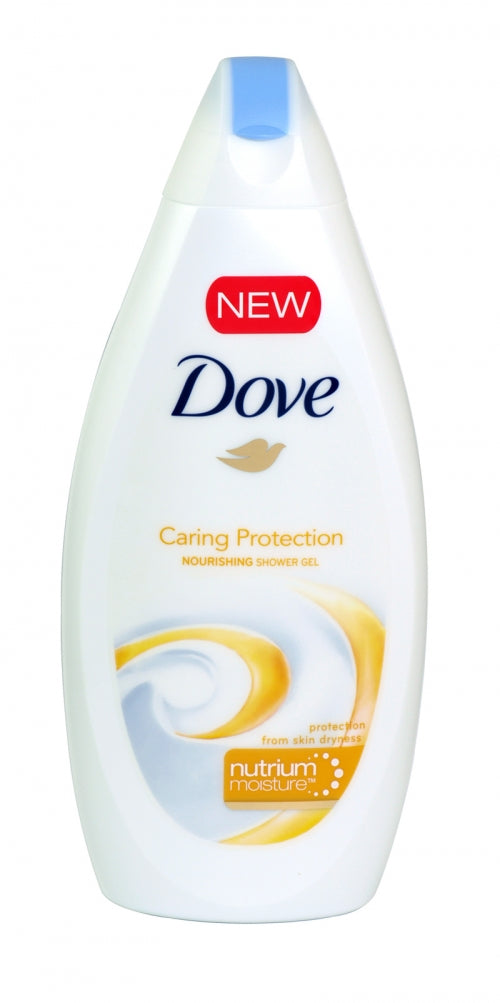 DOVE - SHOWER GEL - CARING PROTECTION - 500ML - 12PCS/DZ