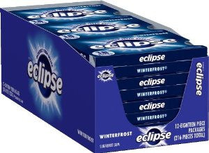 ECLIPSE - WINTERFROST GUM - 12CT/BOX