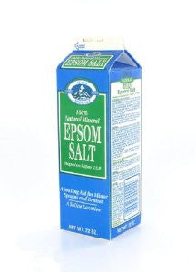 EPSOM SALT - MINERAL SALT 22 OZ - 12CT/CASE