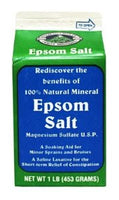 EPSOM SALT - MINERAL SALT 16 OZ/1 LB - 12CT/CASE