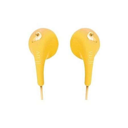 JVC - GUMY EAR BUD HEADPHONESE - YELLOW (EACH)