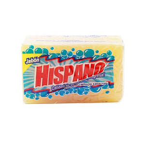 HISPANO LAUNDRY SOAP - PASTA (SQUARE) - 25CT/2PK/CASE