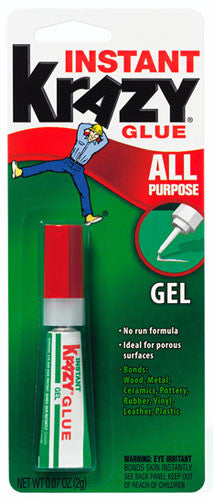 KRAZY GLUE GEL - 12CT/BOX