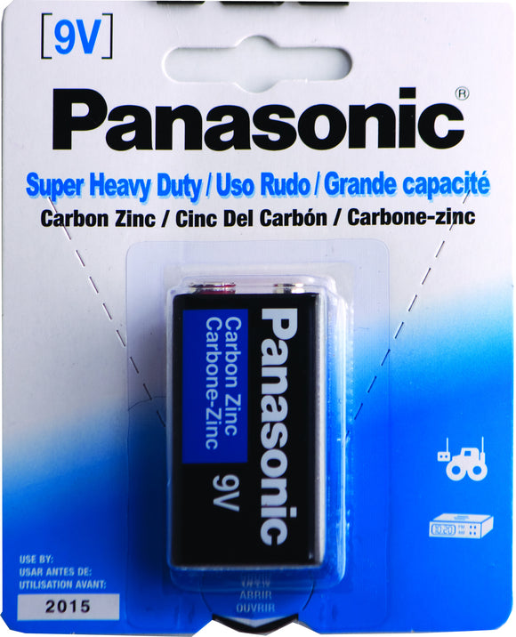 PANASONIC 9V-1 - SUPER HEAVY DUTY BATTERY
