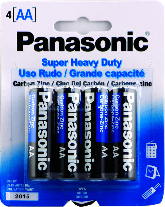 PANASONIC AA-4 - SUPER HEAVY DUTY BATTERY