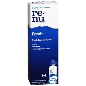 RENU - CONTACT SOLUTION 4 OZ - FRESH - 6CT/UNIT