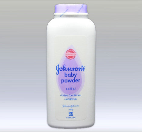 JOHNSON AND JOHNSON'S - BABY POWDER 200 G - PURPLE - 12CT/CASE