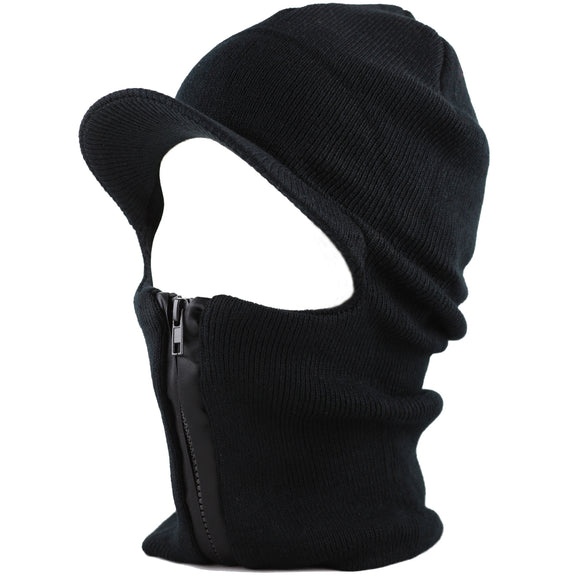 LONG WINTER MASK WITH HAT VISOR - 12/144 CASE