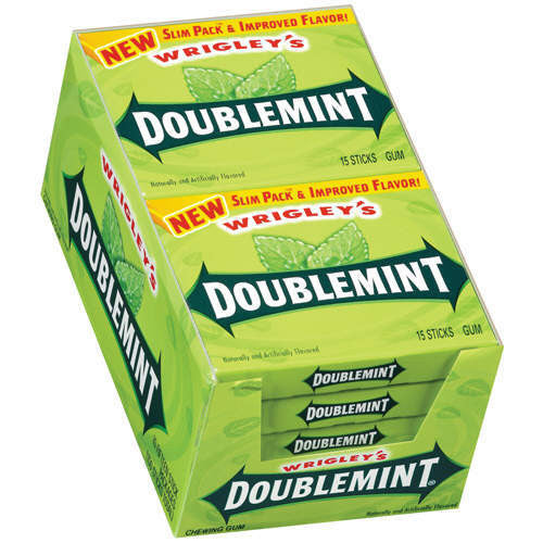 WRIGLEY'S - DOUBLE MINT GUM - 40CT/BOX