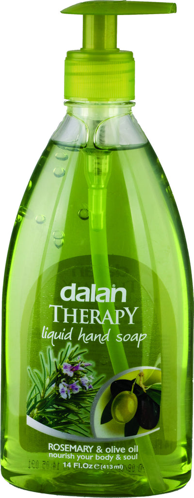 DALAN LIQUID SOAP - ROSEMARY & OLIVE OIL 14 OZ - 24CT/CASE