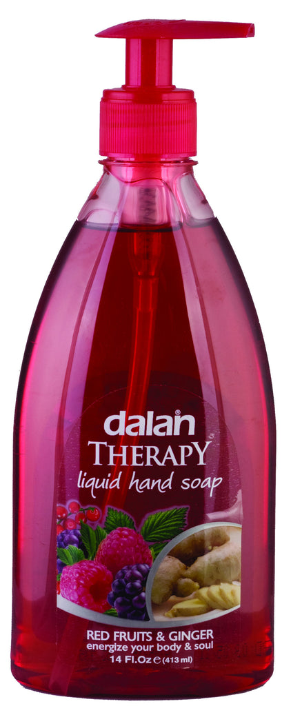 DALAN LIQUID SOAP - RED FRUITS & GINGER 14 OZ - 24CT/CASE