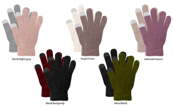 CHANIELLE TOUCHSCREEN GLOVES (WINTER) - 240/CASE