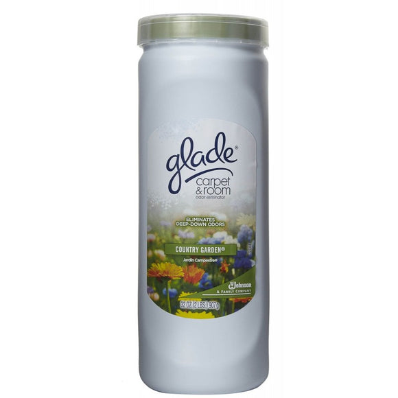 GLADE - CARPET POWDER - COUNTRY GARDEN 32 OZ - 6CT/CASE