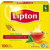 LIPTON - TEA 100 BAG 8 OZ - 36CT/UNIT