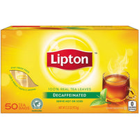 LIPTON - TEA 50 BAG 4 OZ - 12CT/UNIT