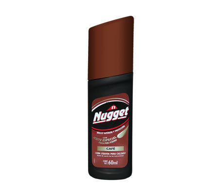 NUGGET SHOE POLISH - BROWN - 12CT/CASE