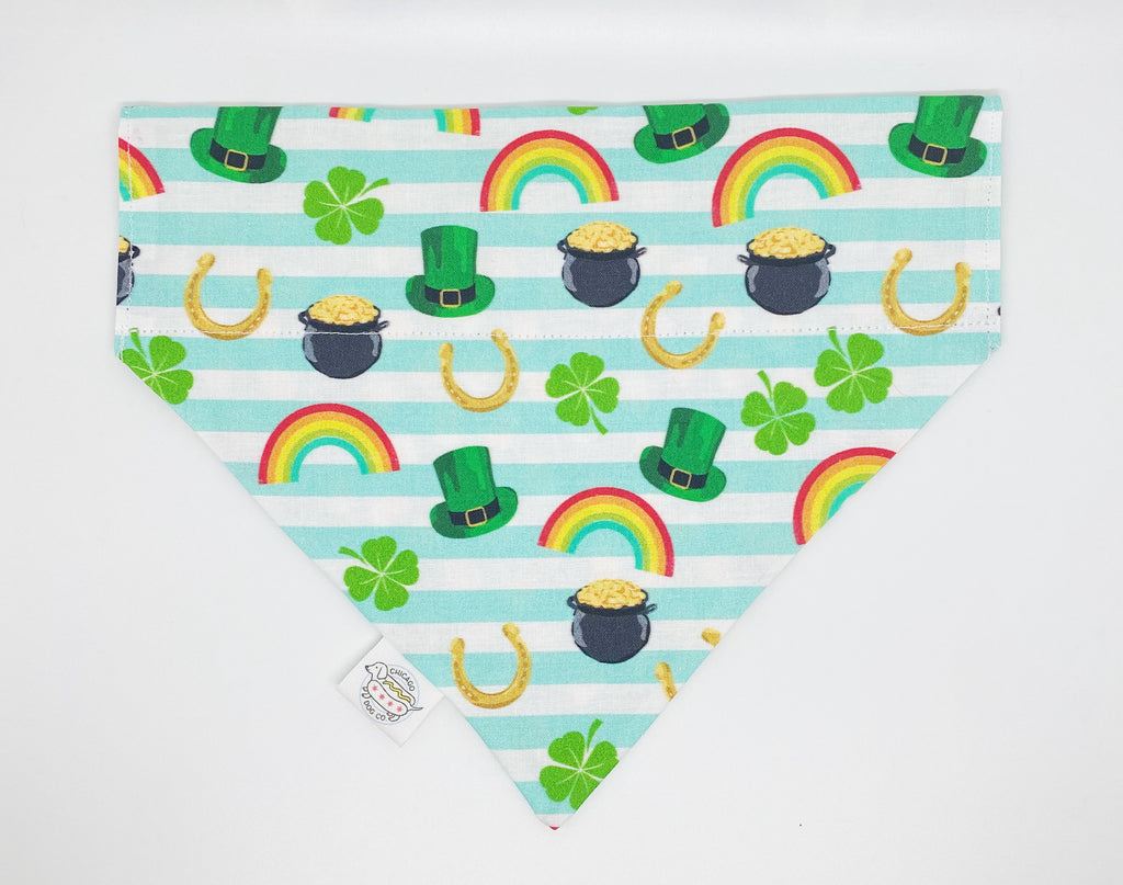 Pot O'Gold Reversible St. Patrick's Day Bandana