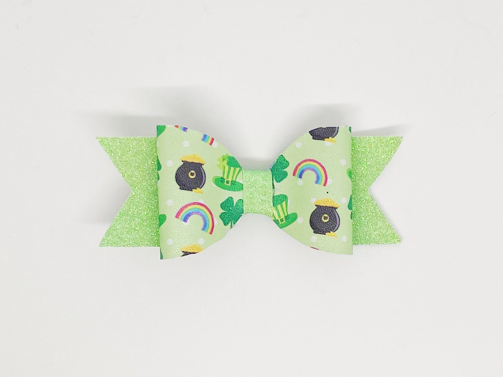 Pot O'Gold St. Patrick's Day Hair Clip or Collar Accessory