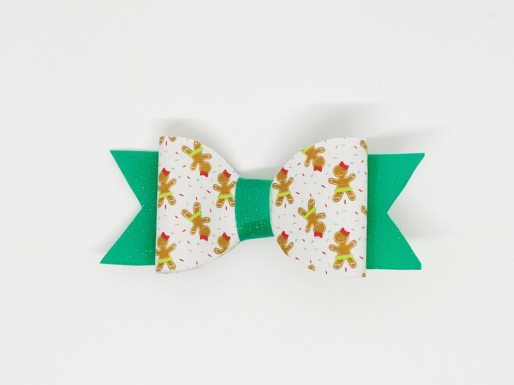 Gingerbread Cookies Hair Bow or Collar Accessory