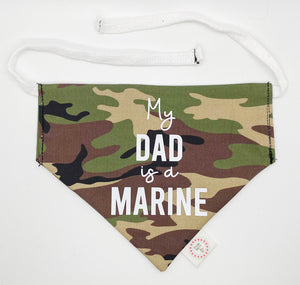 My Dad is a Marine Bandana